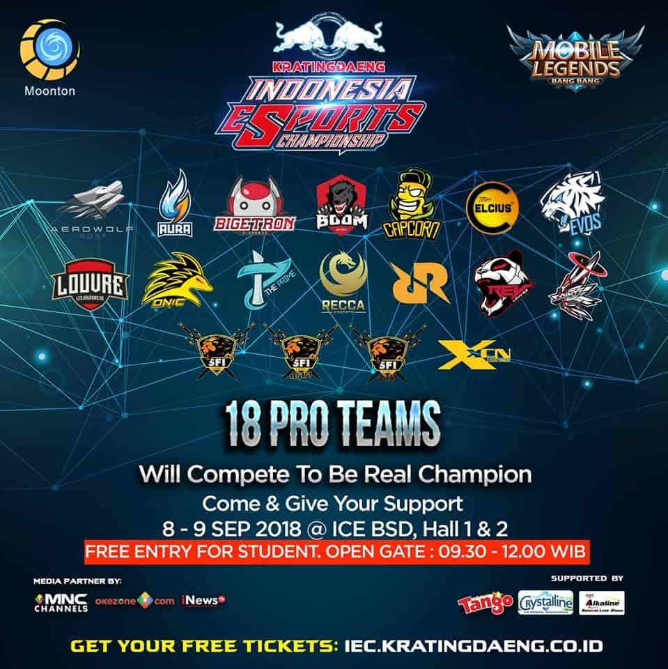 kratingdaeng esports team