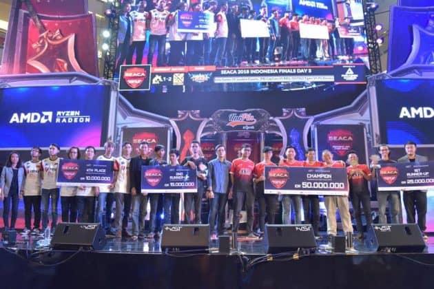 Ini dia Pemenang Tournament Arena Of Valor di UNIPIN SEACA 2018