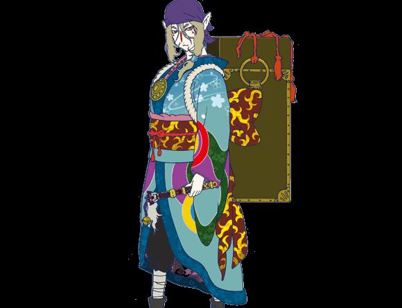 Build-up Tutorial Kusuriuri, Shikigami Crossover Pertama Onmyoji!
