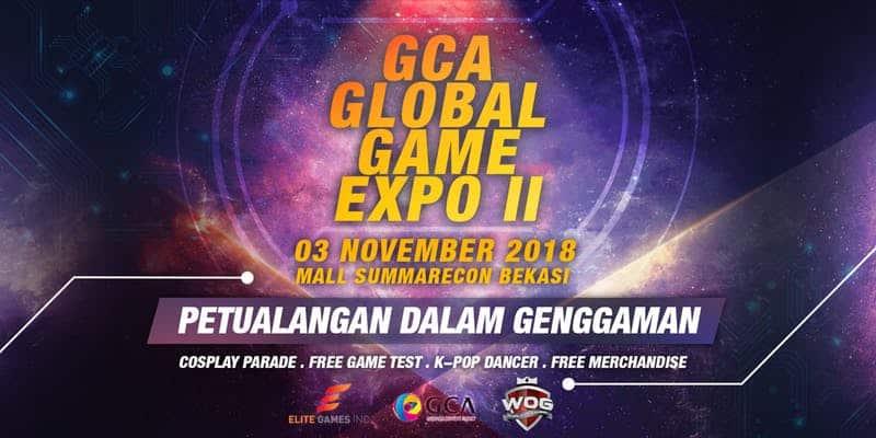 Bersiap untuk GCA Global Game Expo 2 di Bekasi!