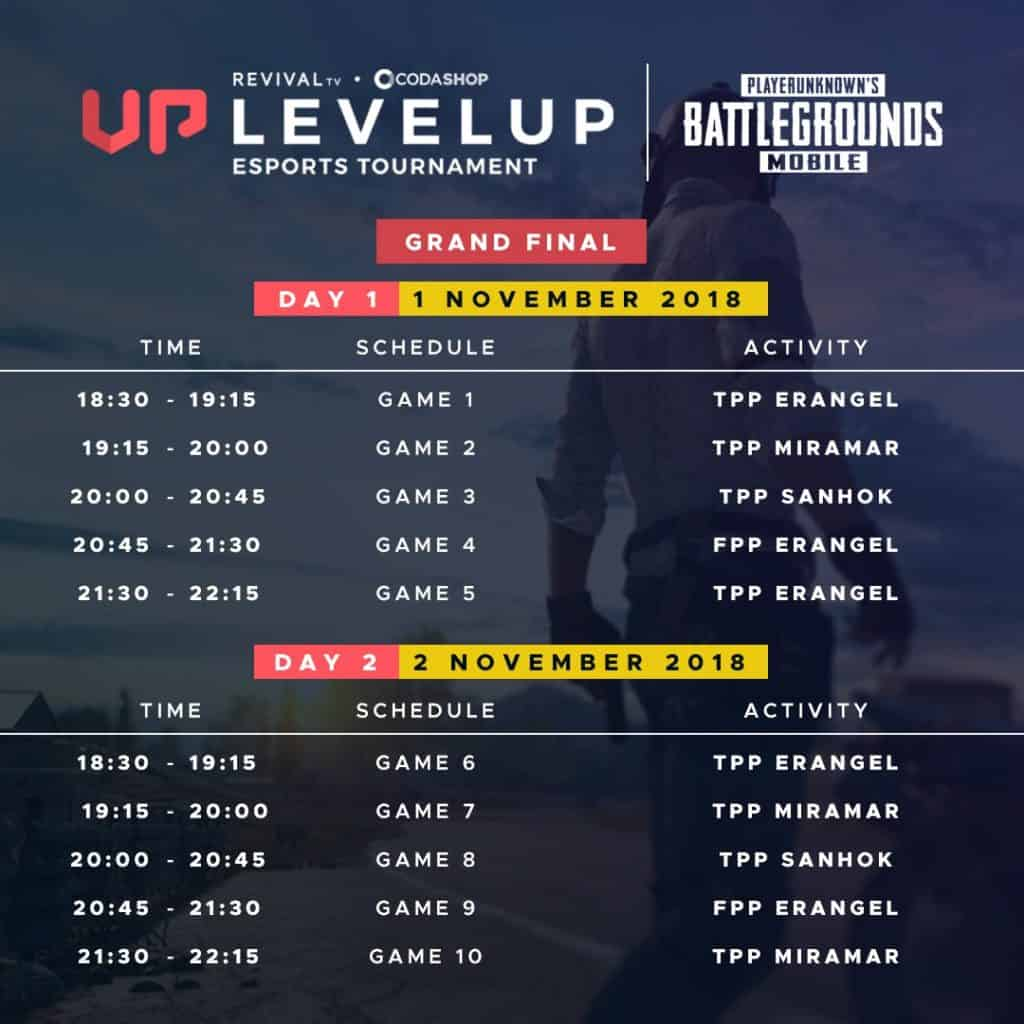 Jadwal PUBG Mobile Tournament