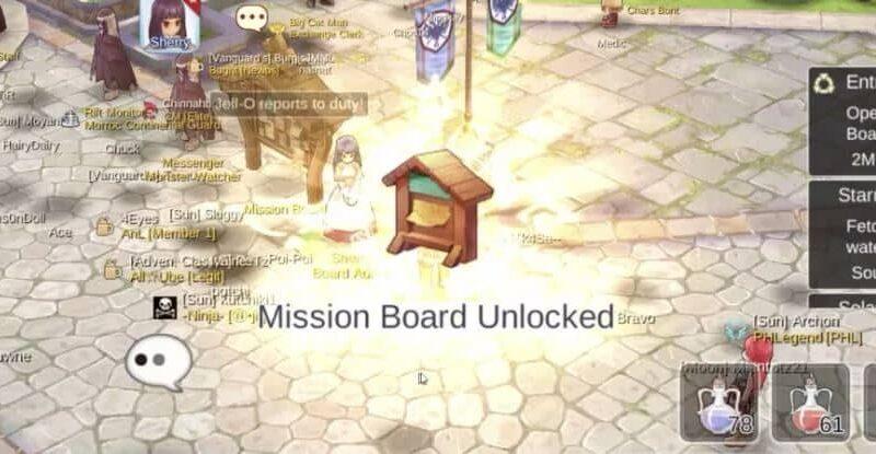 Panduan quest mission board