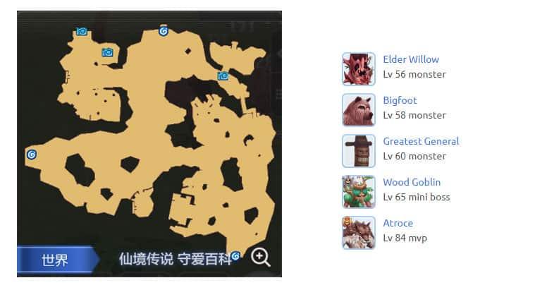 Payon-South-Field-Map-Ragnarok-M-Eternal-Love