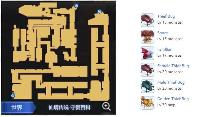 Prt_Sewer-2f-Map-Ragnarok-M-Eternal-Love