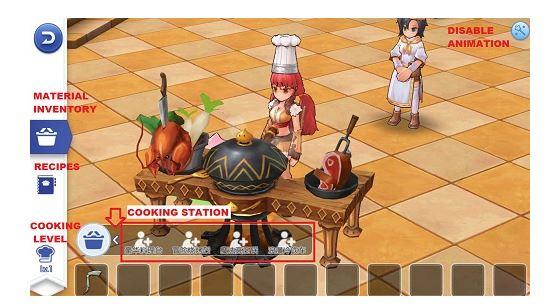 cooking Ragnarok M Eternal Love