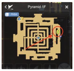 pyramid 1f ragnarok m eternal love