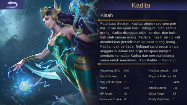 Mobile Legend Guide : Build Nuker Kadita