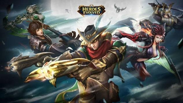Heroes Evolved Kolaborasi Overlord