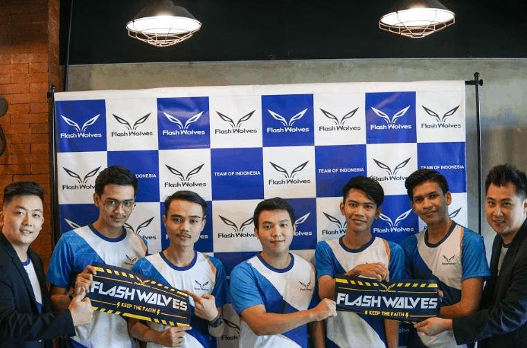 Flash Wolves membentuk tim Mobile Legends  pertamanya di Indonesia!