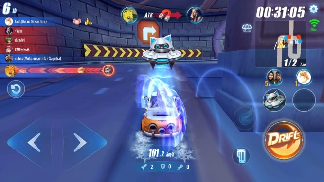 Garena Speed Drifter Cheater Diberantas Tanpa Ampun