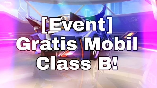 Garena Speed Drifters Gratis Mobil Class B!