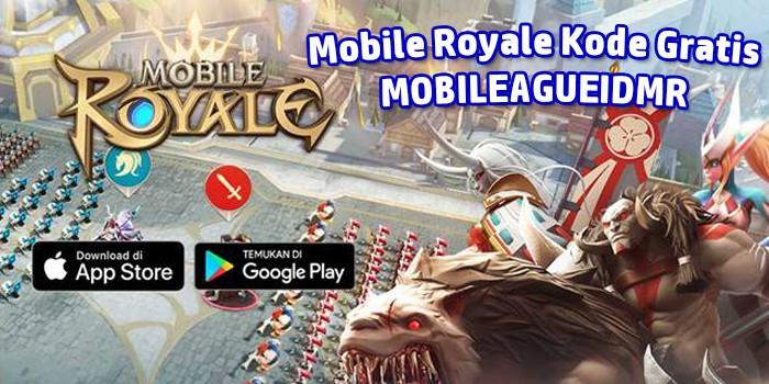 Mobile Royale Kode Gratis