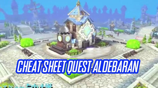 Cheat Sheet Quest Aldebaran