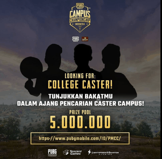 PUBG Mobile Caster Competition