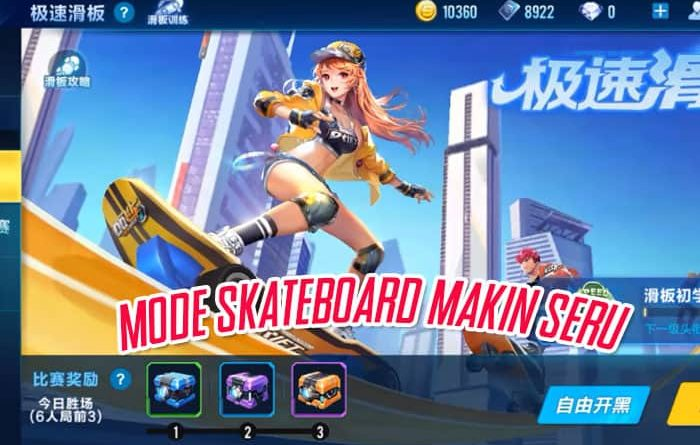 Mode Skateboard Speed Drifters