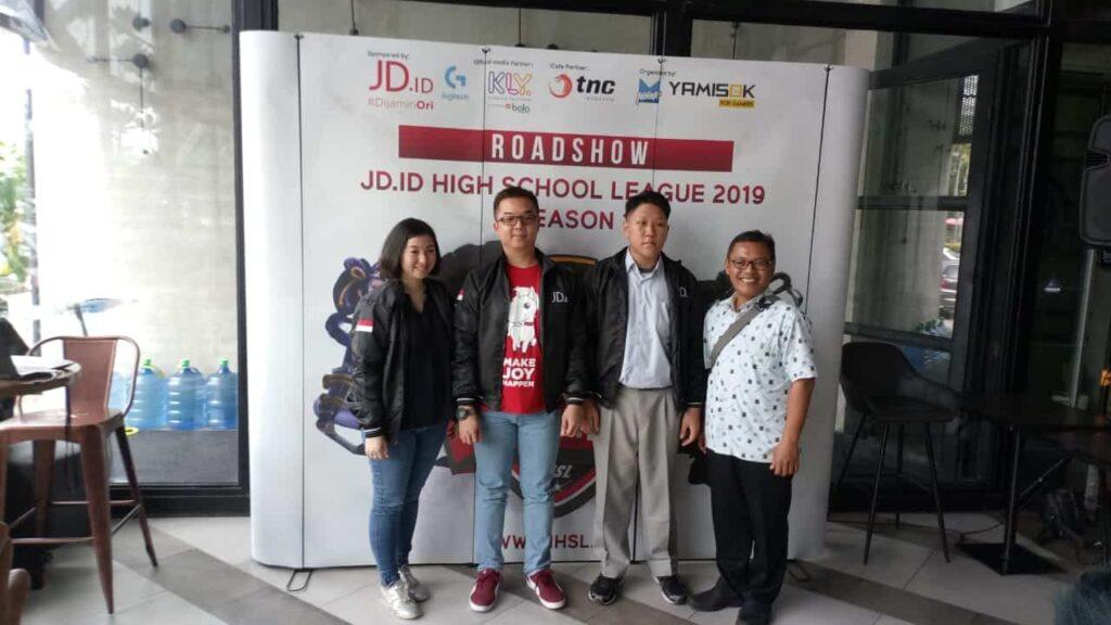 JD.ID High School League Musim Pertama 2019: Kompetisi Main Games Antar SMA Tingkat Nasional