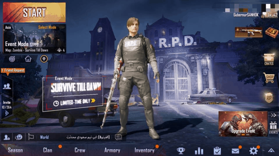 Tips Pubg Mobile Zombie Mode