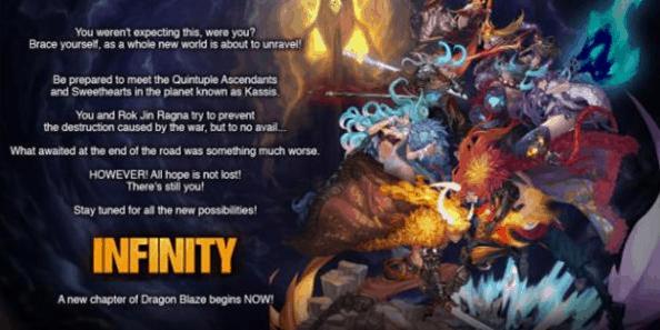 Dragon Blaze Infinity Update dari GAMEVIL