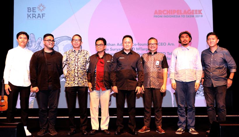 Archipelageek Bukti BEKRAF Peduli Industri Kreatif Indonesia