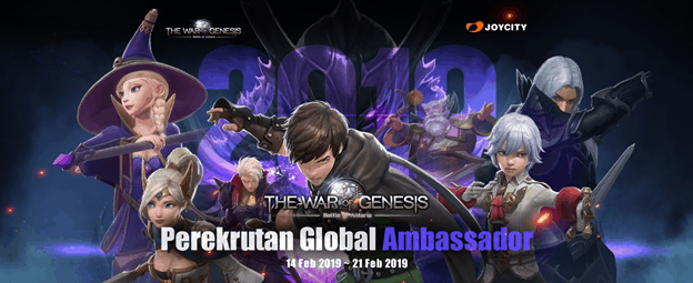 War Of Genesis Rekrut Global Ambassador