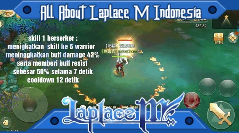 Panduan Warrior Laplace M