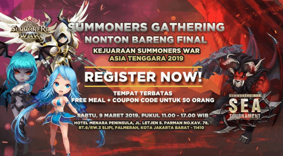 Summoners War Gathering 2019 - Nobar Final SEA Tournament