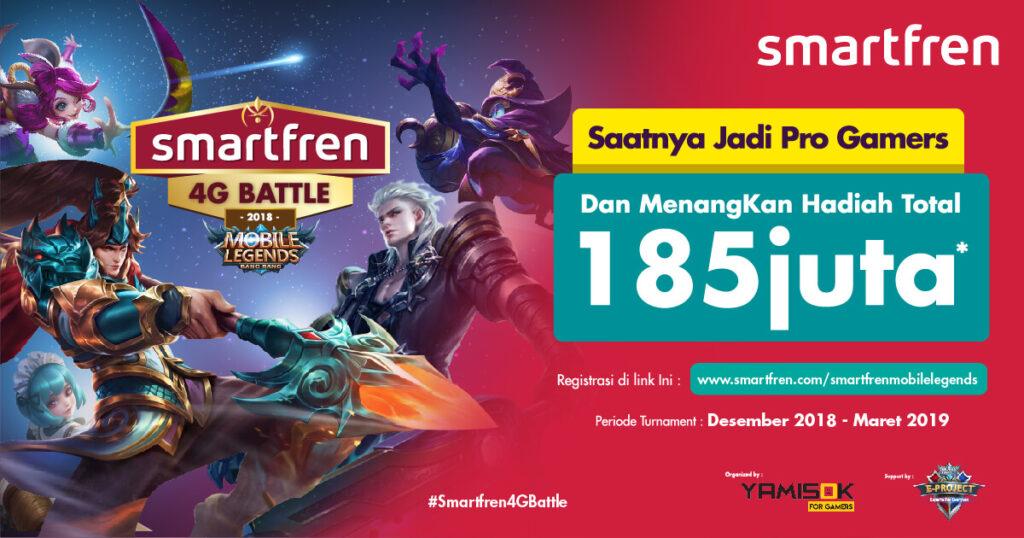 Smartfren 4G Battle bersama Yamisok: Turnamen Amatir Rasa Profesional!