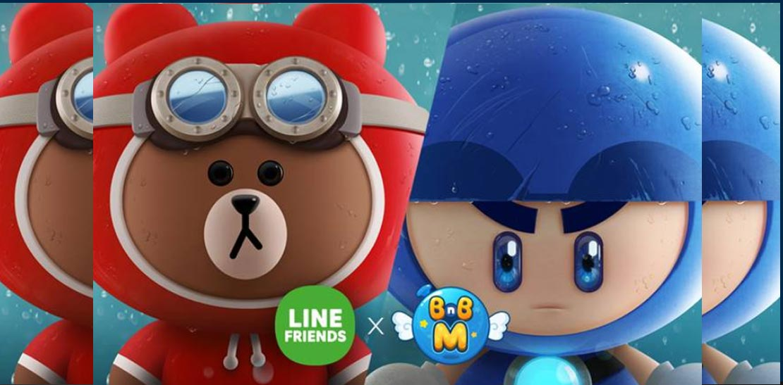 Update kolaborasi Nexon, LINE FRIENDS X Crazy Arcade BnB M!