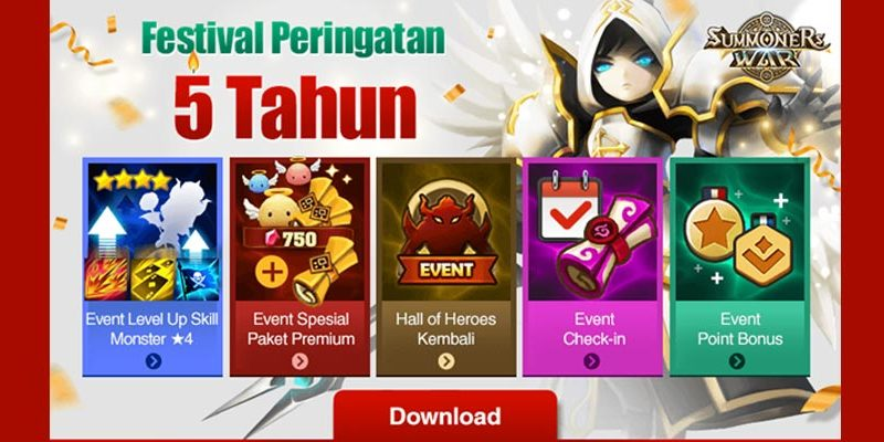 summoners-war-5-tahun