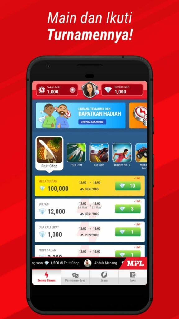 Mobile Premier League, Platform esports game arcade berhadiah Gopay