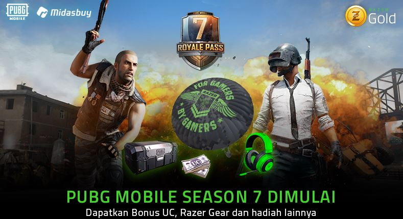 Razer Gold PUBG Mobile Season 7