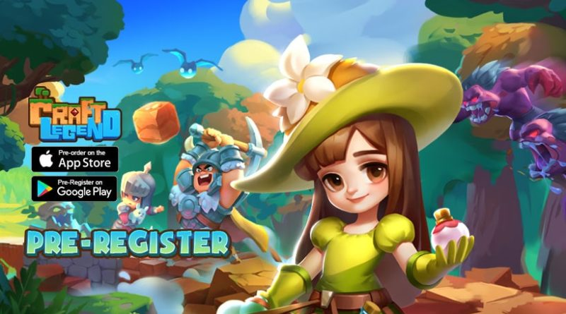 Craft Legend Gim Sandbox RPG dari IGG