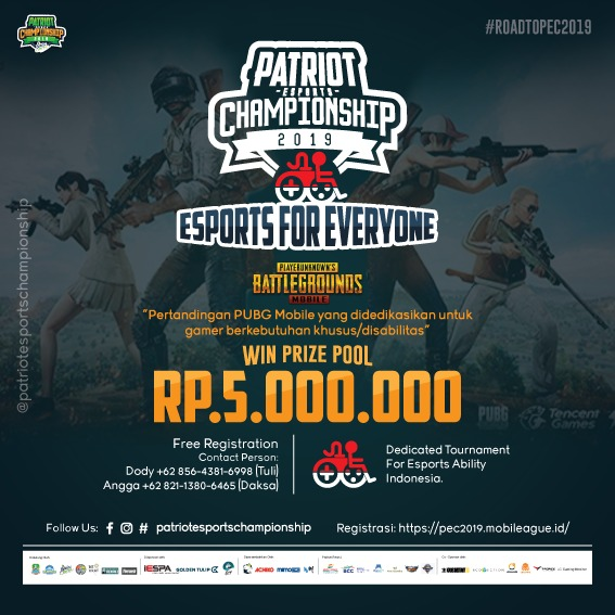 Esports for Everyone – Road to PEC 2019 Siap Digelar Akhir Juni di Mega Bekasi Hypermall