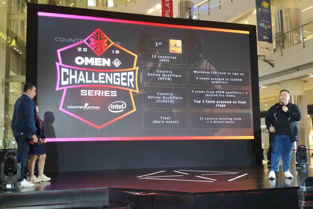 OMEN CHALLENGER SERIES 2019