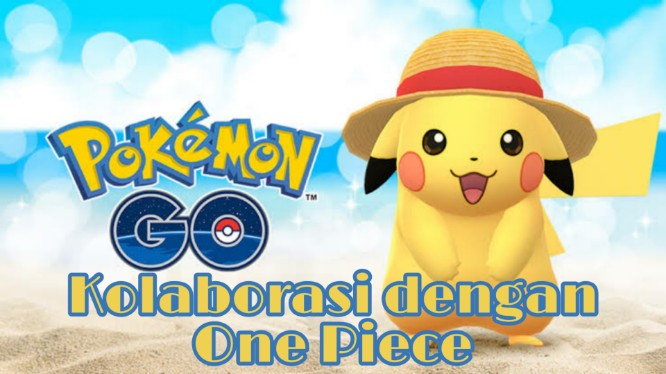 One Piece Kolaborasi Dengan Pokemon Go!