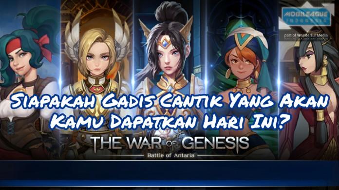 Cara Gacha di The War of Genesis