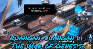 Tutorial Ruangan Kapal The War of Genesis Part 1