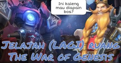 Tutorial Ruangan The War of Genesis Part 2