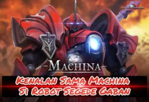 Perkenalan Machina di Game The War of Genesis