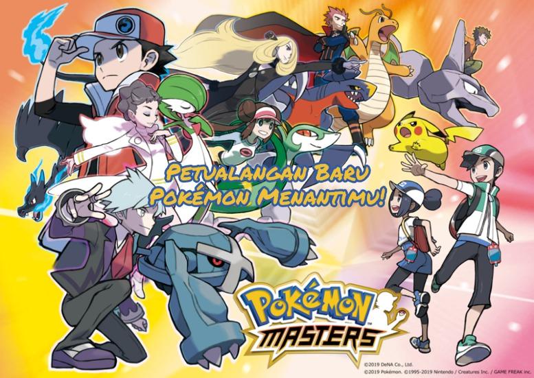 Pokémon Master Game Petualangan Baru untuk Mobile