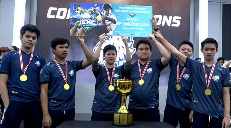 Minus Jess No Limit, EVOS Esports Sabet Dua Juara IENC 2019