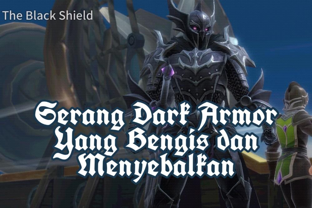 Tutorial Cara Serang Dark Armor The War of Genesis