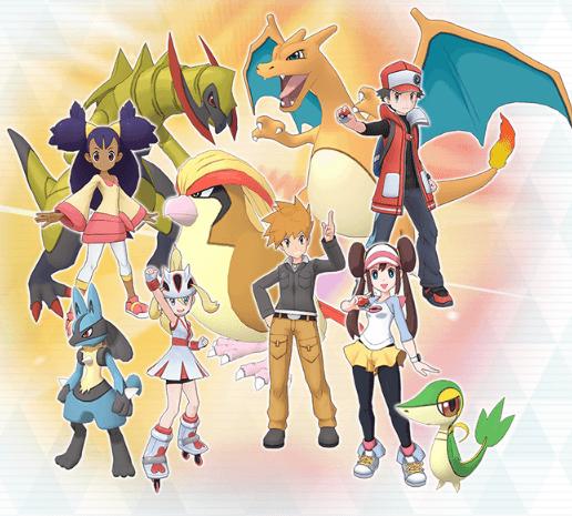 Daftar Trainer dan Pokemon Dengan Sync Pairs di game Pokemon Masters