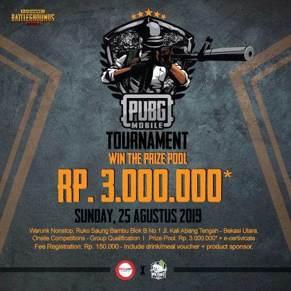 PUBG M Tournament Bekasi