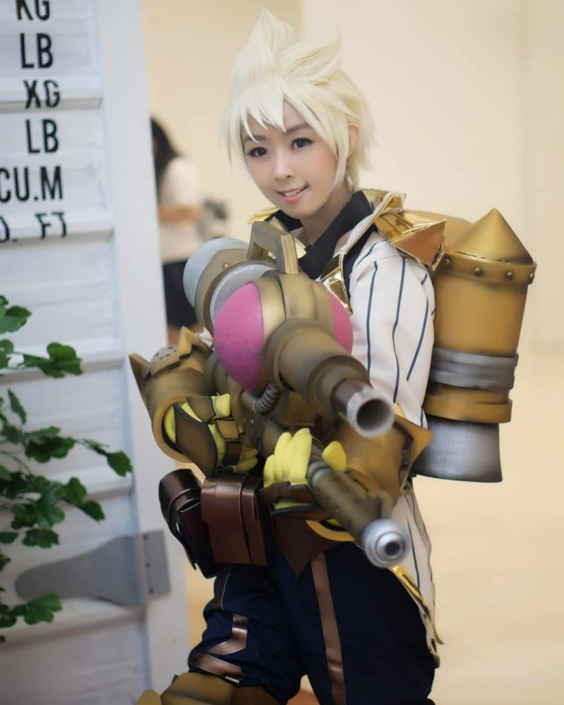 Cosplay Mobile Legends Kimmy