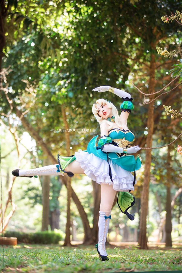 Cosplay Mobile Legends Odette Butterfly Queen