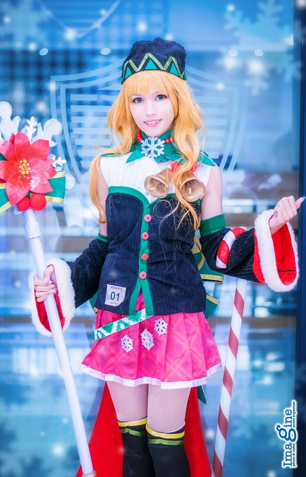 Cosplay Mobile Legends Odette Christmas Cheer