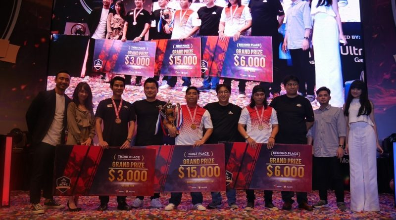 Gamer Indonesia Ukir Prestasi Juara 1 dan 2 di AOWC 2019