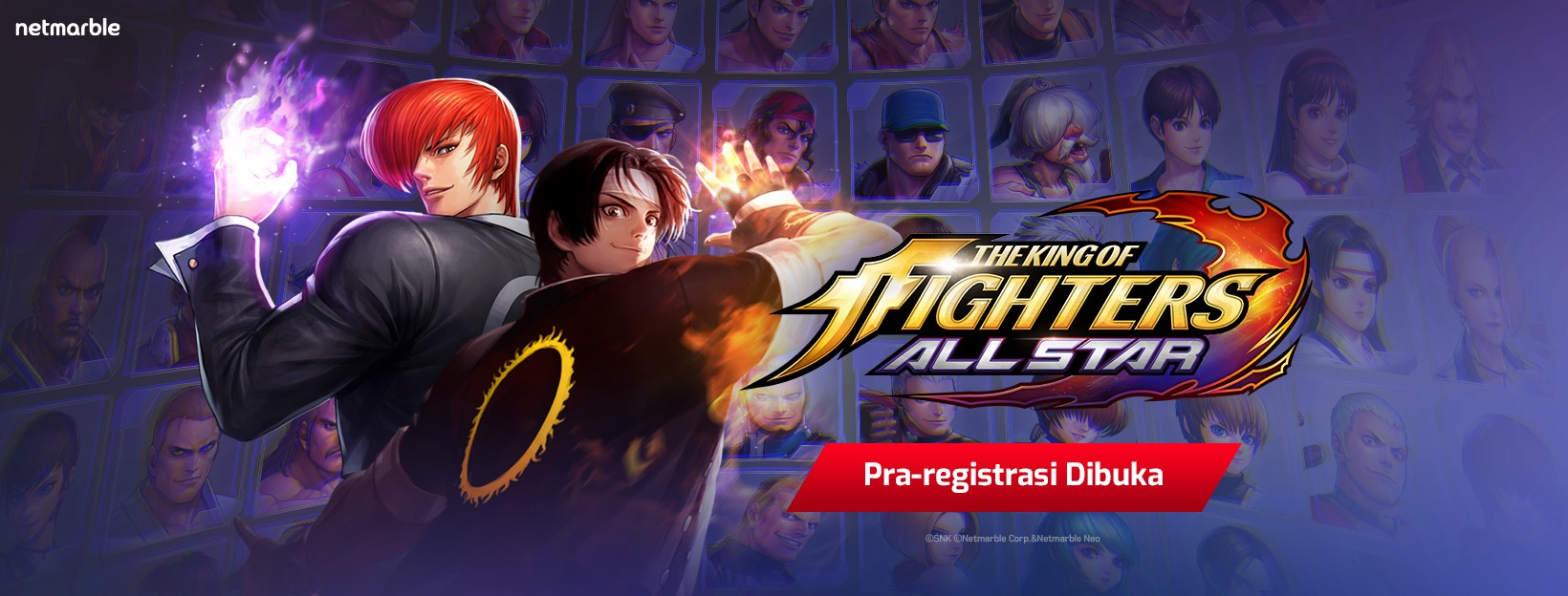 Pra-Pendaftaran The King of Fighters ALLSTAR Dibuka! Berhadiah Honda PCX & iPhone 11!