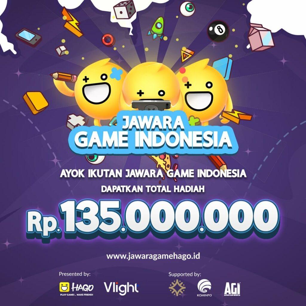Hago Gelar Kompetisi Jawara Game Indonesia Berhadiah Ratusan Juta Rupiah